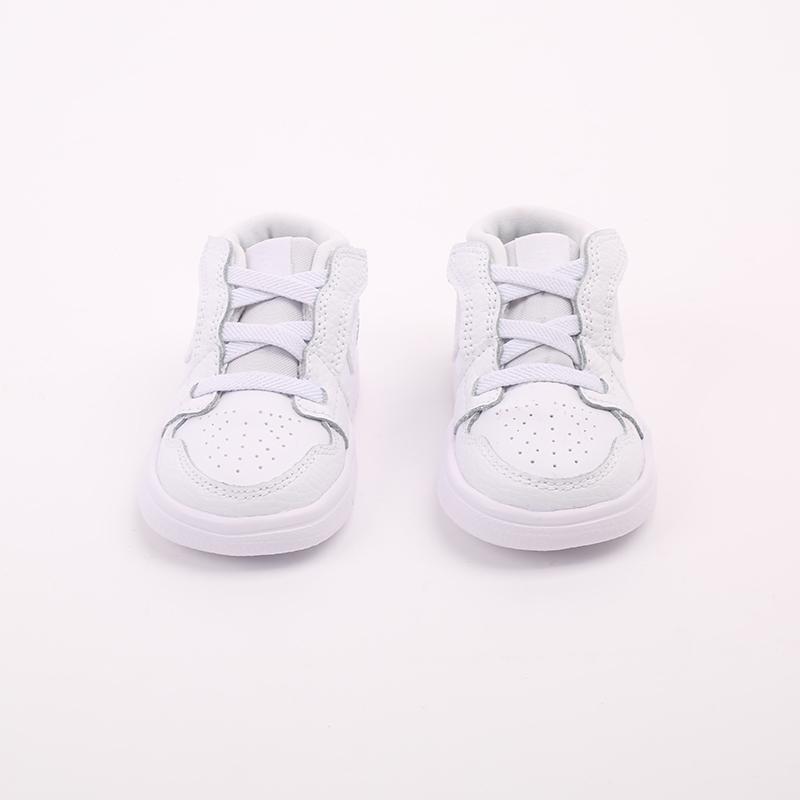 детские белые  кроссовки jordan 1 low alt (td) CI3436-130 - цена, описание, фото 5