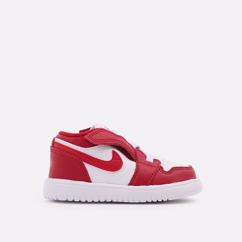детские красные  кроссовки jordan 1 low alt (td) CI3436-611 - цена, описание, фото 1