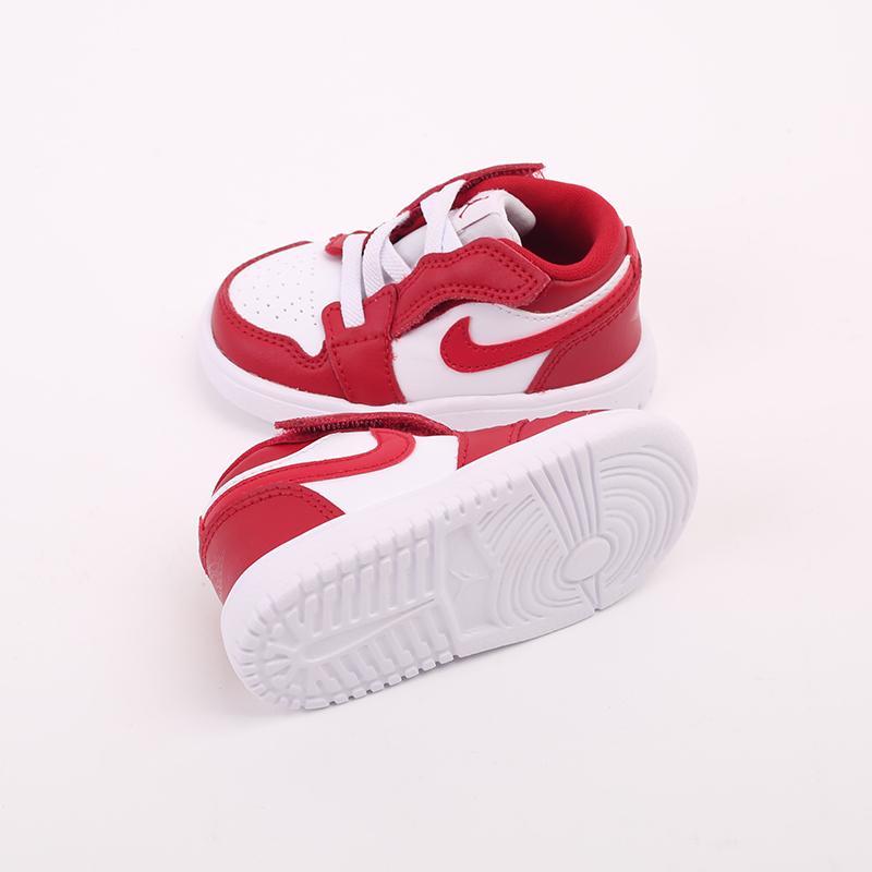 детские красные  кроссовки jordan 1 low alt (td) CI3436-611 - цена, описание, фото 3