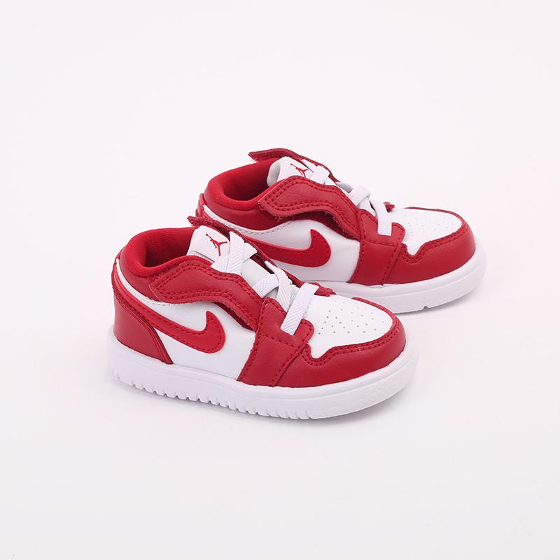 детские красные  кроссовки jordan 1 low alt (td) CI3436-611 - цена, описание, фото 2