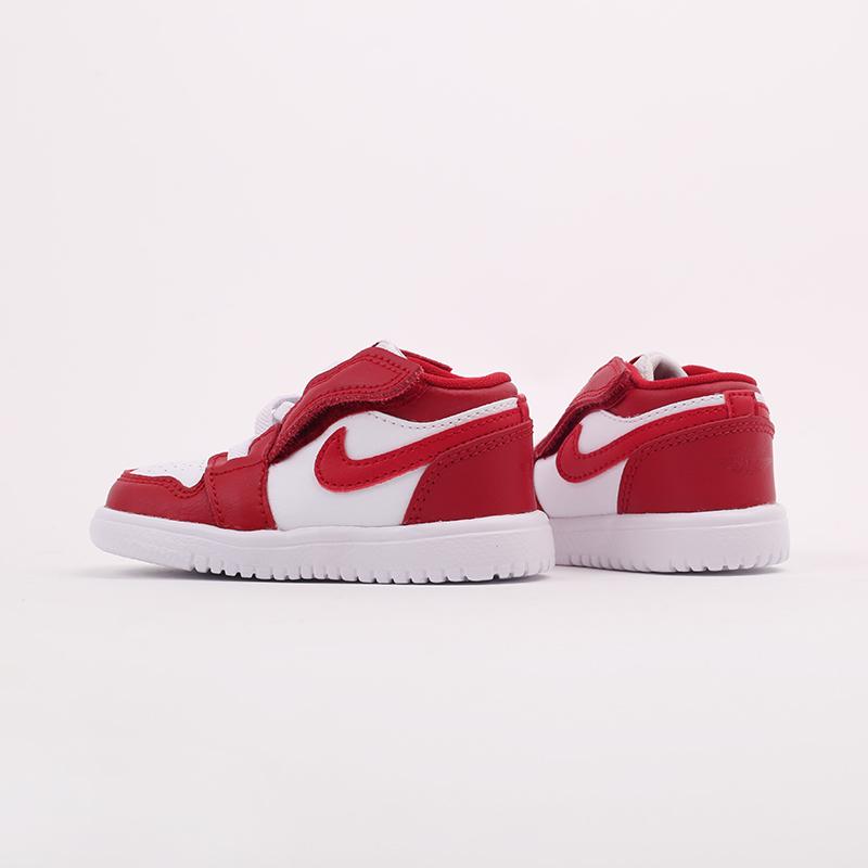 детские красные  кроссовки jordan 1 low alt (td) CI3436-611 - цена, описание, фото 5