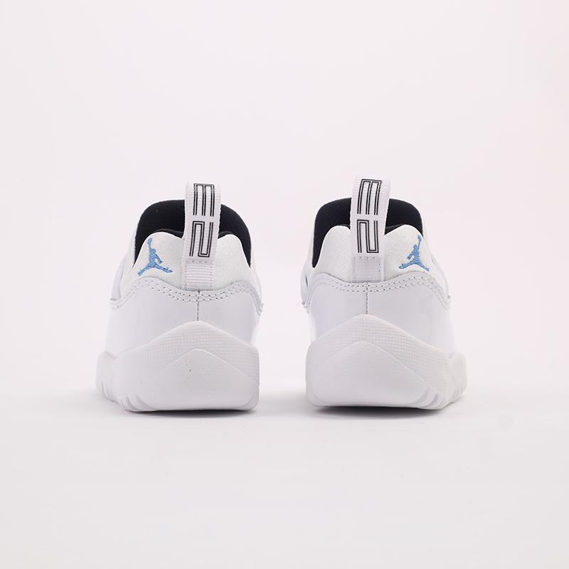 детские белые  кроссовки jordan 11 retro little flex td BQ7102-117 - цена, описание, фото 5