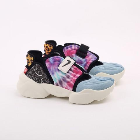 женские разноцветные  кроссовки nike wmns aqua rift CW2624-101 - цена, описание, фото 2