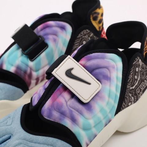 женские разноцветные  кроссовки nike wmns aqua rift CW2624-101 - цена, описание, фото 5