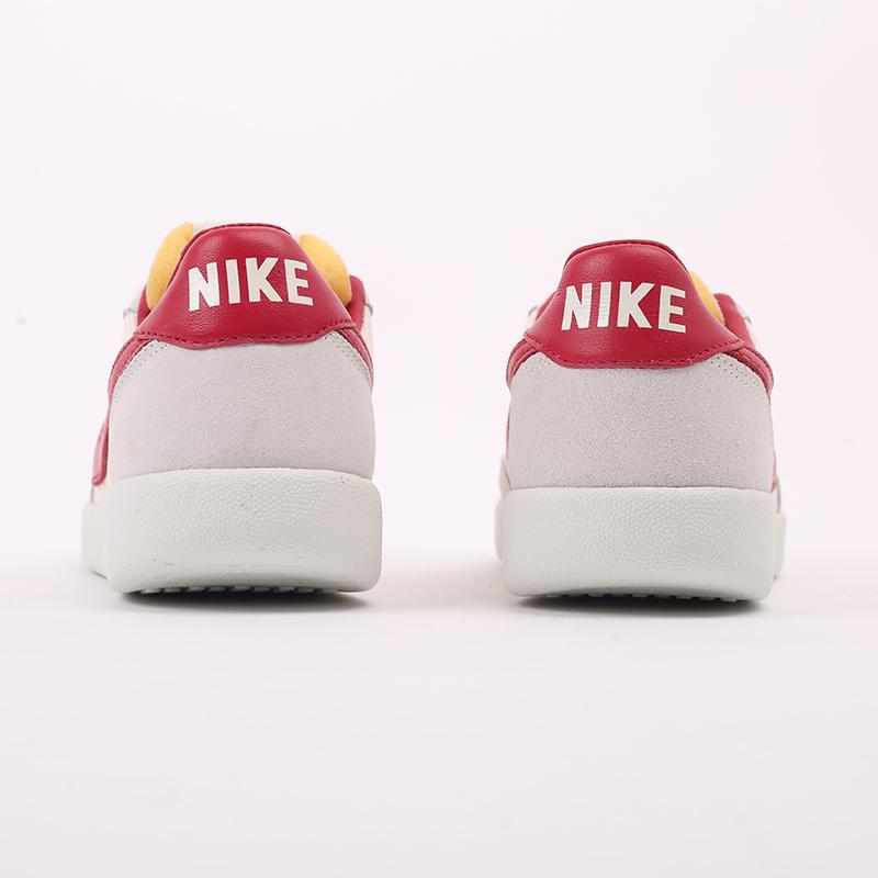 мужские бежевые, красные  кроссовки nike killshot og sp CU9180-101 - цена, описание, фото 4