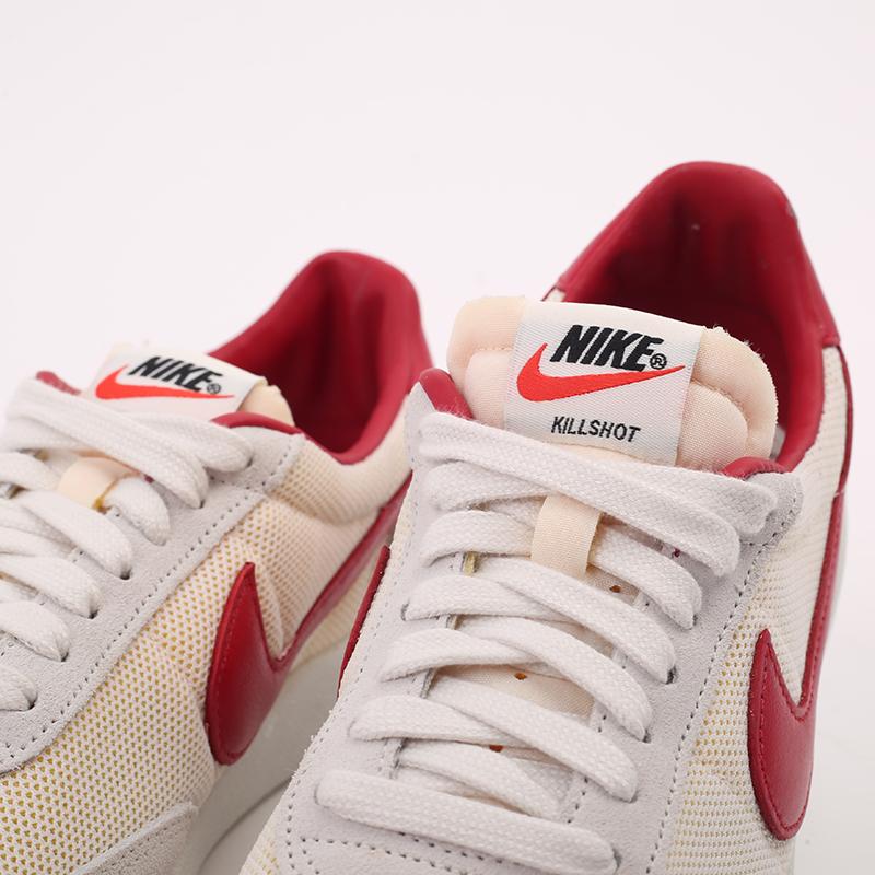 мужские бежевые, красные  кроссовки nike killshot og sp CU9180-101 - цена, описание, фото 6