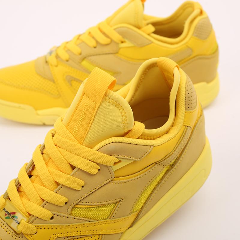 мужские жёлтые  кроссовки diadora d.elite paura DR501176392-yellow utilit - цена, описание, фото 7