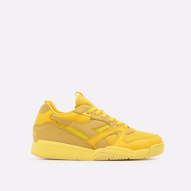 мужские жёлтые  кроссовки diadora d.elite paura DR501176392-yellow utilit - цена, описание, фото 1