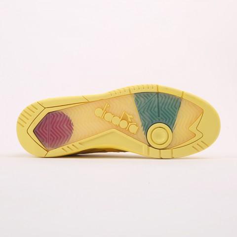 мужские жёлтые  кроссовки diadora d.elite paura DR501176392-yellow utilit - цена, описание, фото 3