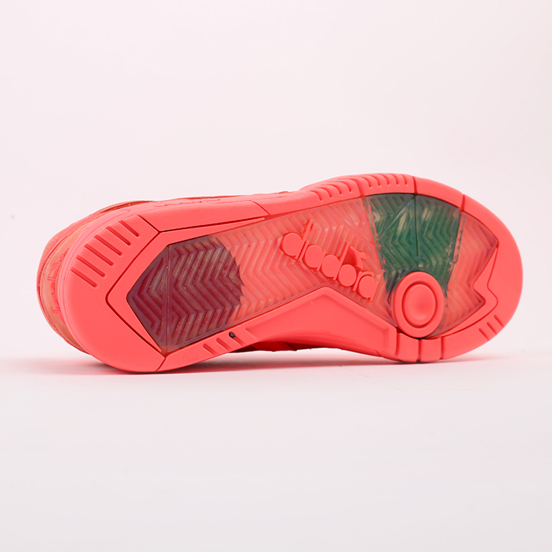 мужские красные  кроссовки diadora d.elite paura DR501176392-red fluo - цена, описание, фото 3