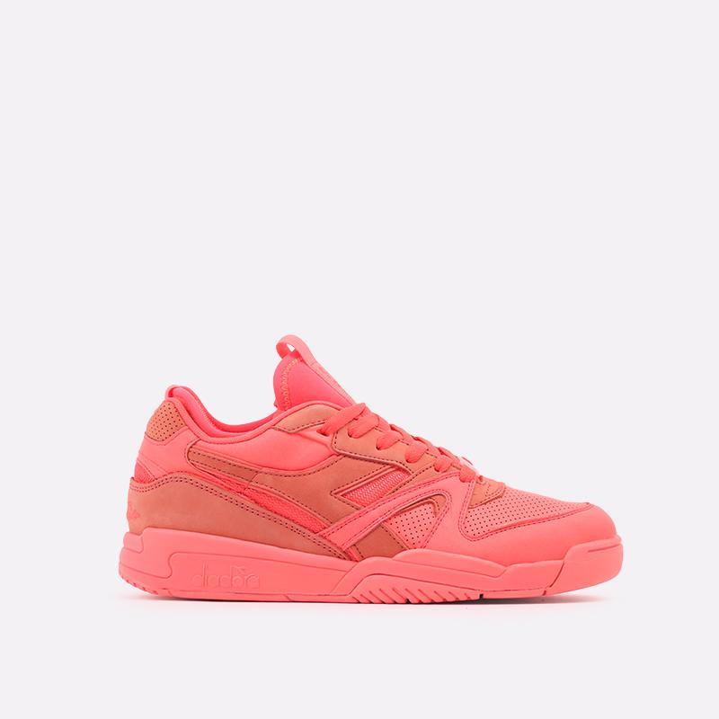 мужские красные  кроссовки diadora d.elite paura DR501176392-red fluo - цена, описание, фото 1