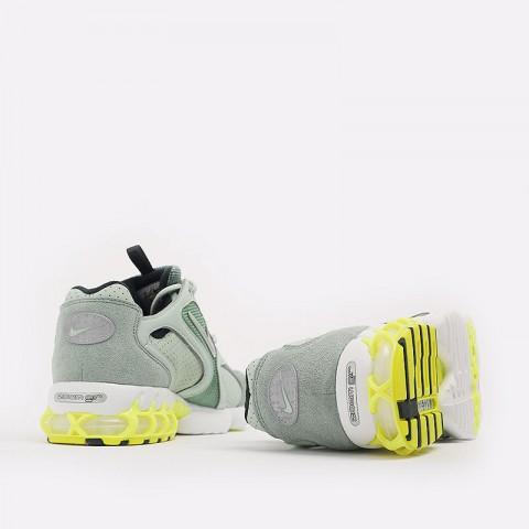 мужские зеленые  кроссовки nike air zoom spiridon cage 2 CW5376-301 - цена, описание, фото 9