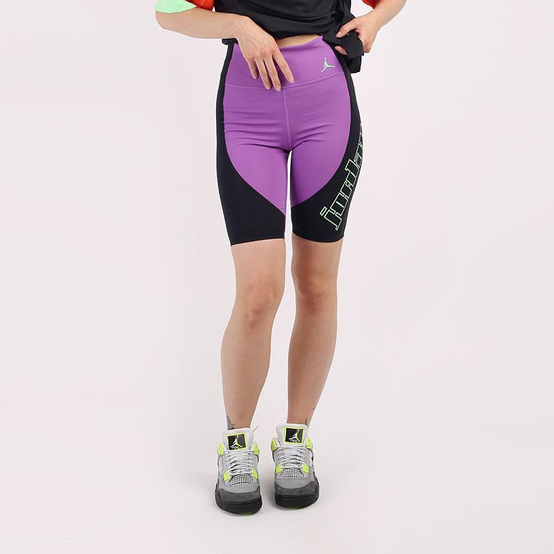 фиолетовые  шорты jordan moto bike shorts CU4183-532 - цена, описание, фото 1