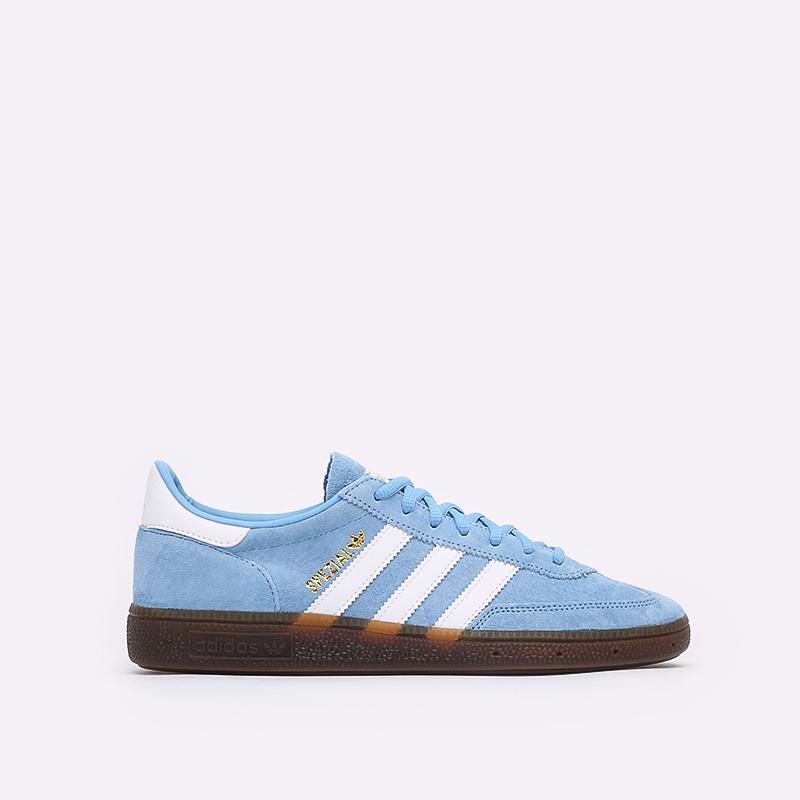 голубые  кроссовки adidas handball spezial BD7632 - цена, описание, фото 1