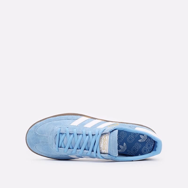 голубые  кроссовки adidas handball spezial BD7632 - цена, описание, фото 6
