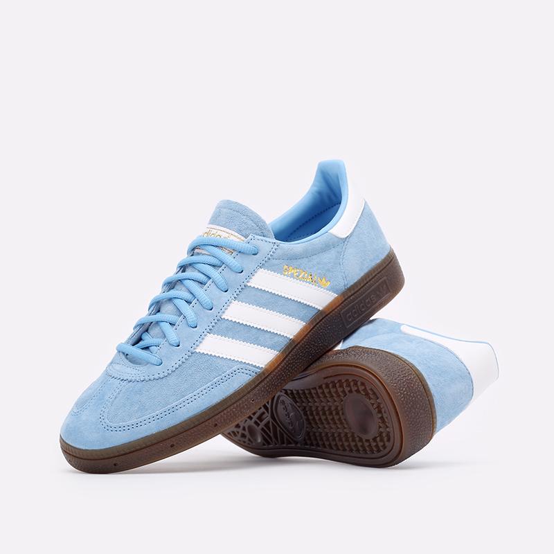 голубые  кроссовки adidas handball spezial BD7632 - цена, описание, фото 2