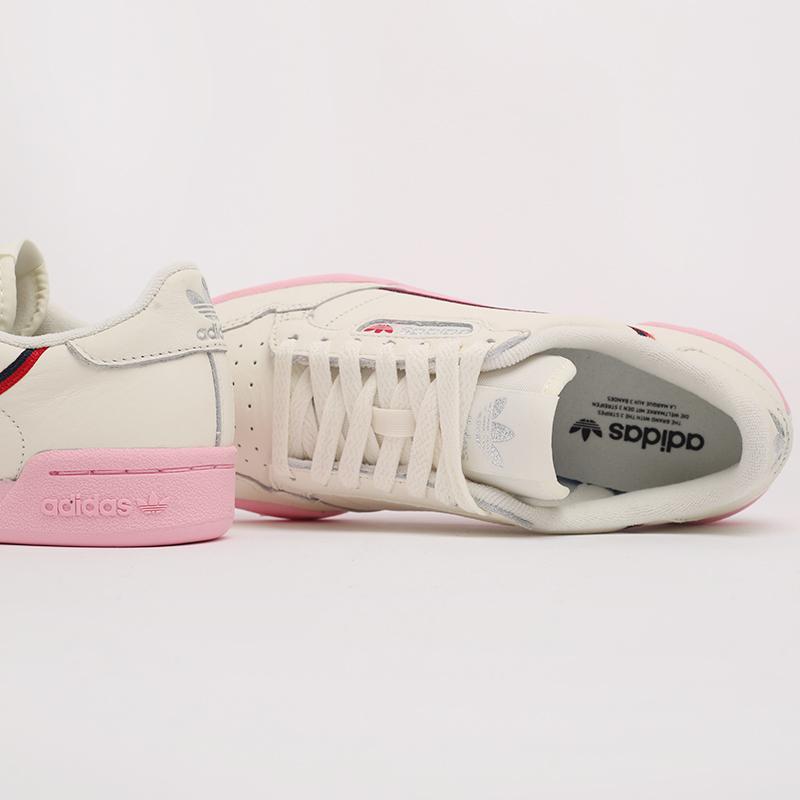 бежевые  кроссовки adidas continental 80 w EG6729 - цена, описание, фото 5