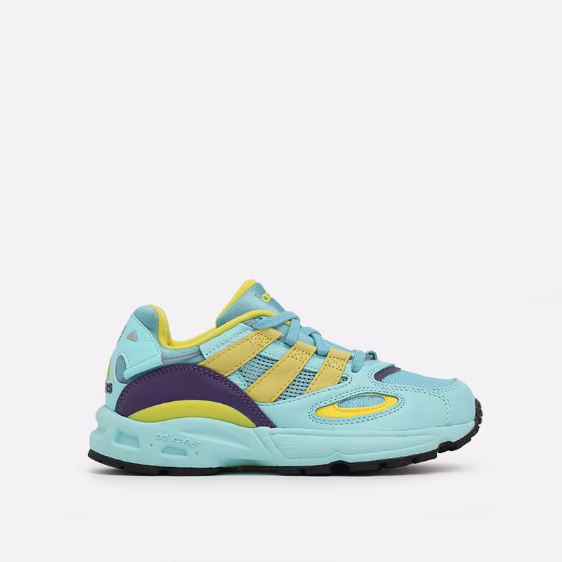 мужские голубые  кроссовки adidas lxcon 94 EG8790 - цена, описание, фото 1