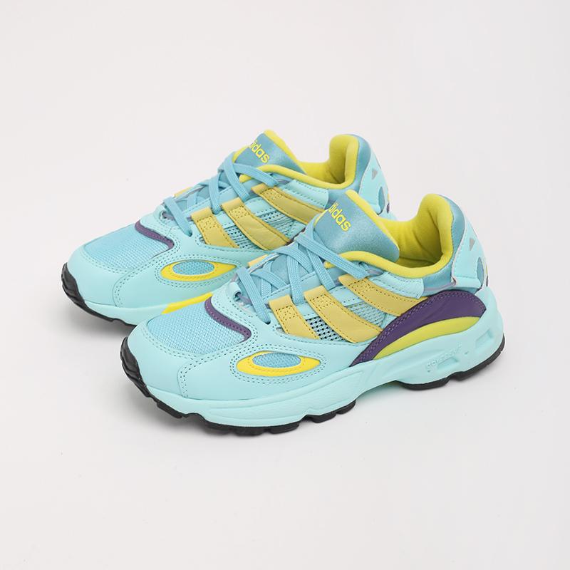 мужские голубые  кроссовки adidas lxcon 94 EG8790 - цена, описание, фото 3