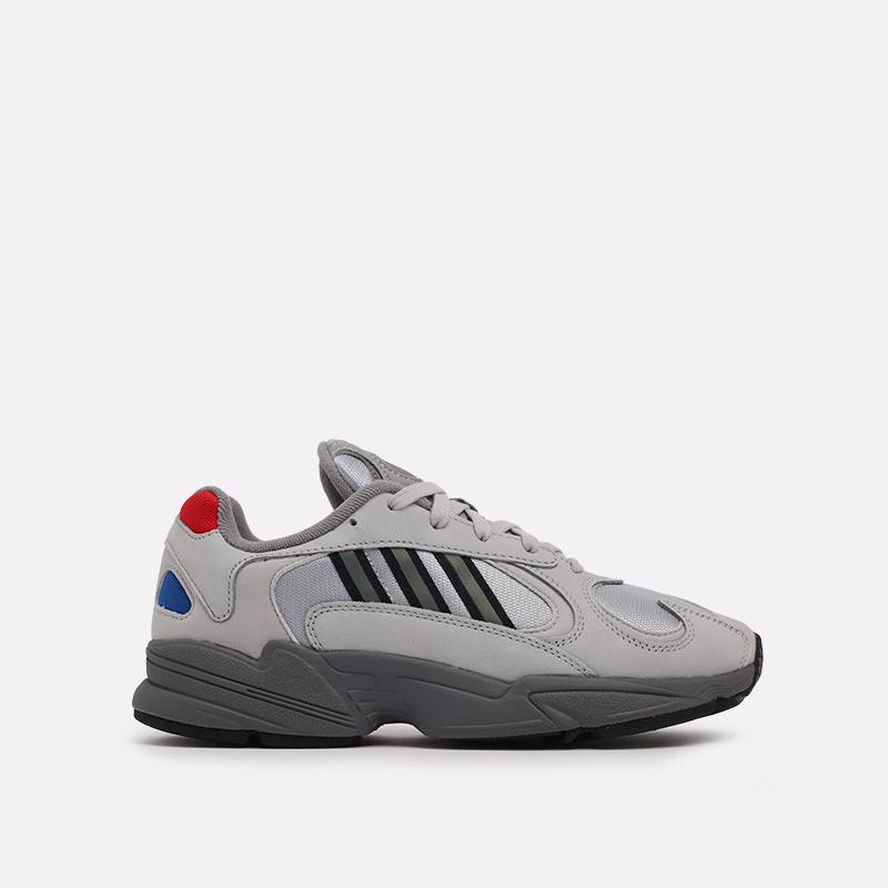 серые  кроссовки adidas yung-1 FV4732 - цена, описание, фото 1