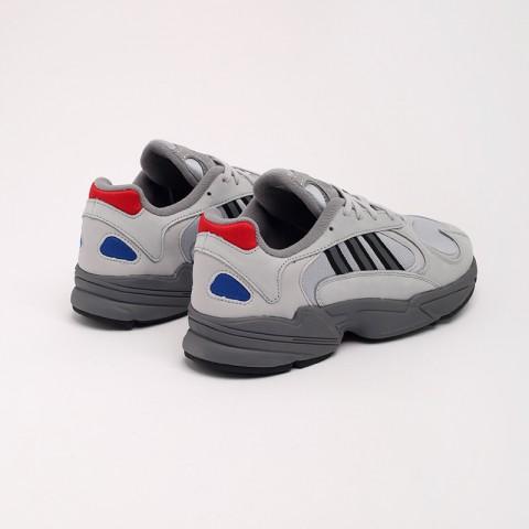 серые  кроссовки adidas yung-1 FV4732 - цена, описание, фото 3