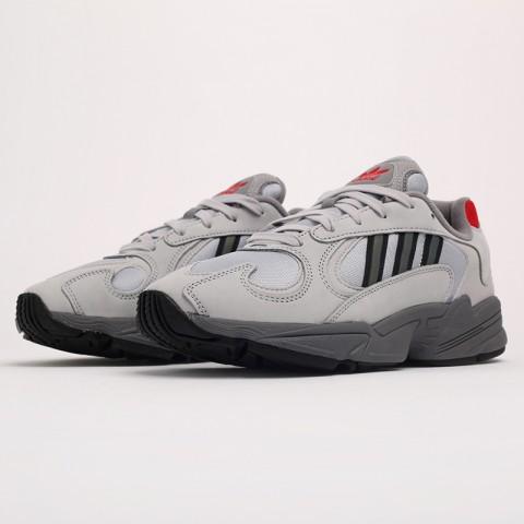 серые  кроссовки adidas yung-1 FV4732 - цена, описание, фото 5