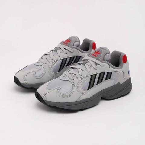 серые  кроссовки adidas yung-1 FV4732 - цена, описание, фото 2
