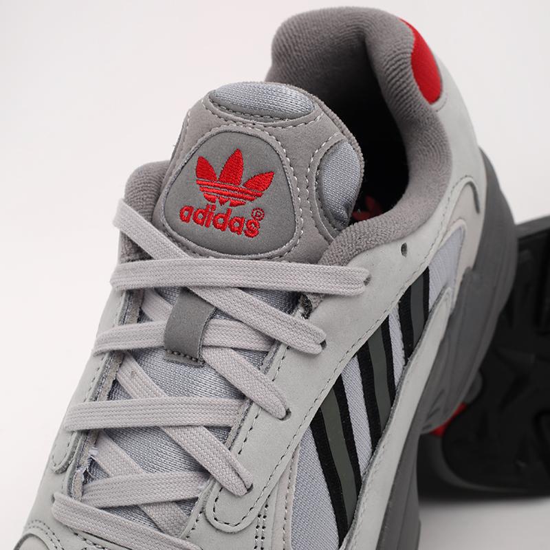 серые  кроссовки adidas yung-1 FV4732 - цена, описание, фото 6