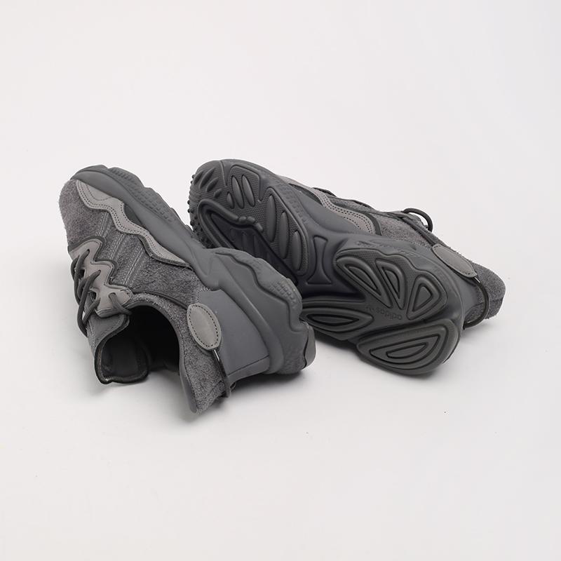 мужские серые  кроссовки adidas ozweego EG0547 - цена, описание, фото 2