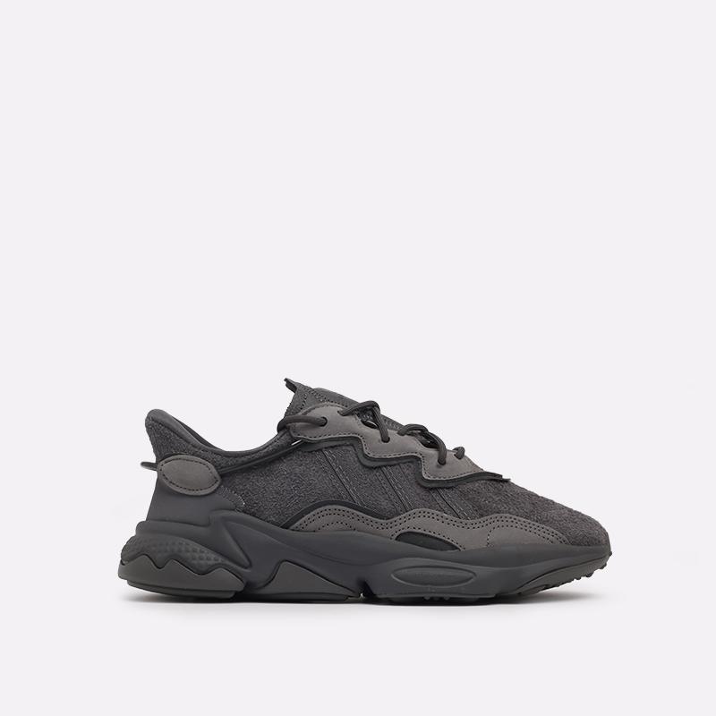 мужские серые  кроссовки adidas ozweego EG0547 - цена, описание, фото 1