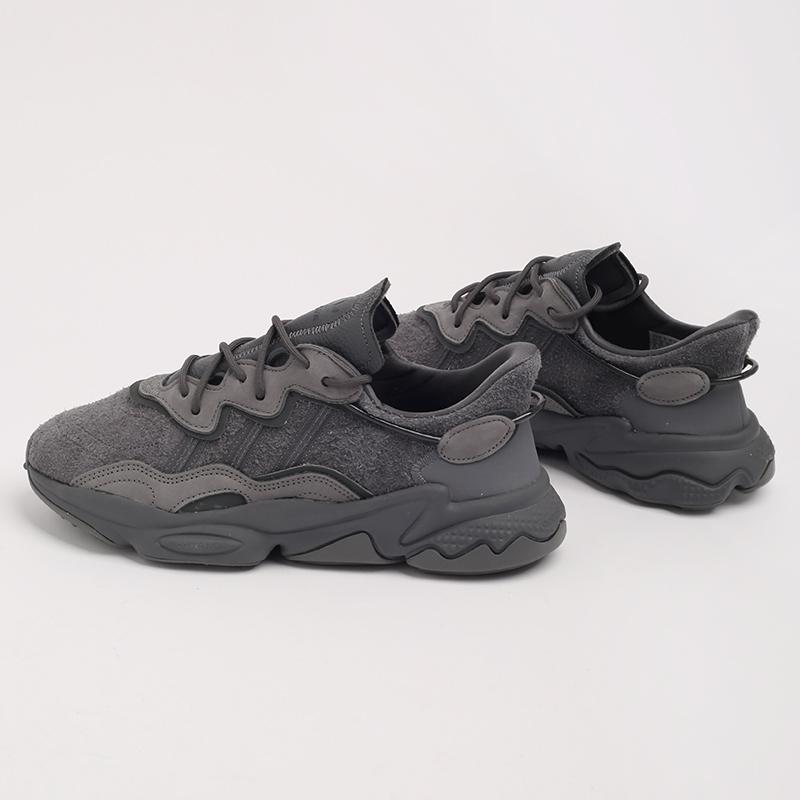 мужские серые  кроссовки adidas ozweego EG0547 - цена, описание, фото 6