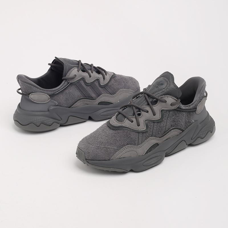 мужские серые  кроссовки adidas ozweego EG0547 - цена, описание, фото 7