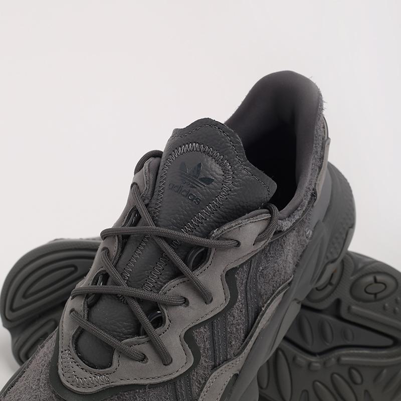 мужские серые  кроссовки adidas ozweego EG0547 - цена, описание, фото 8