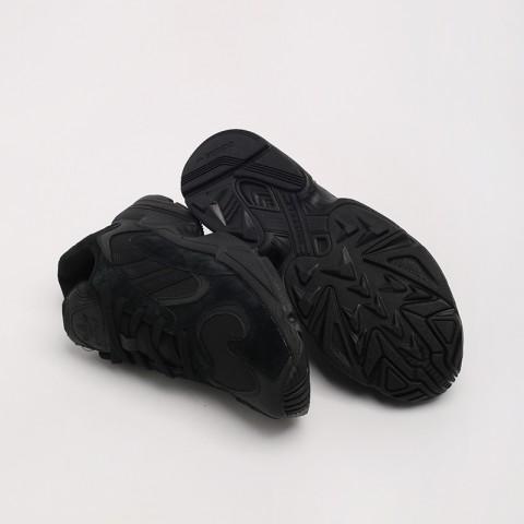 мужские чёрные  кроссовки adidas yung-1 G27026 - цена, описание, фото 7