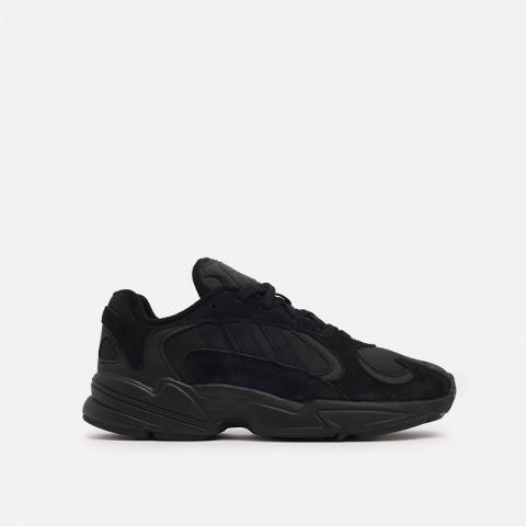 мужские чёрные  кроссовки adidas yung-1 G27026 - цена, описание, фото 1