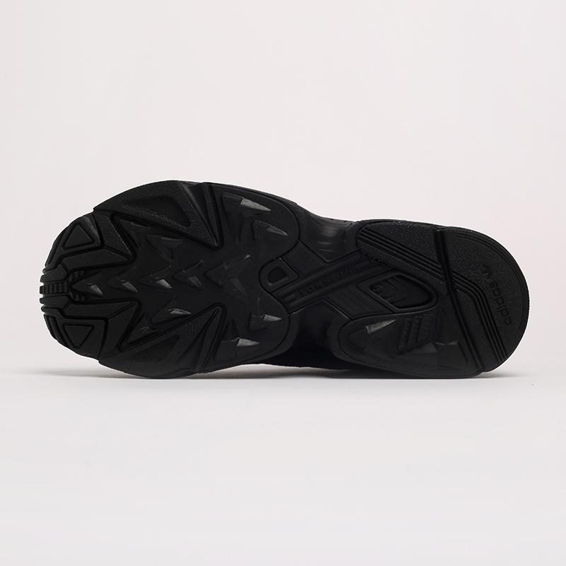 мужские чёрные  кроссовки adidas yung-1 G27026 - цена, описание, фото 6