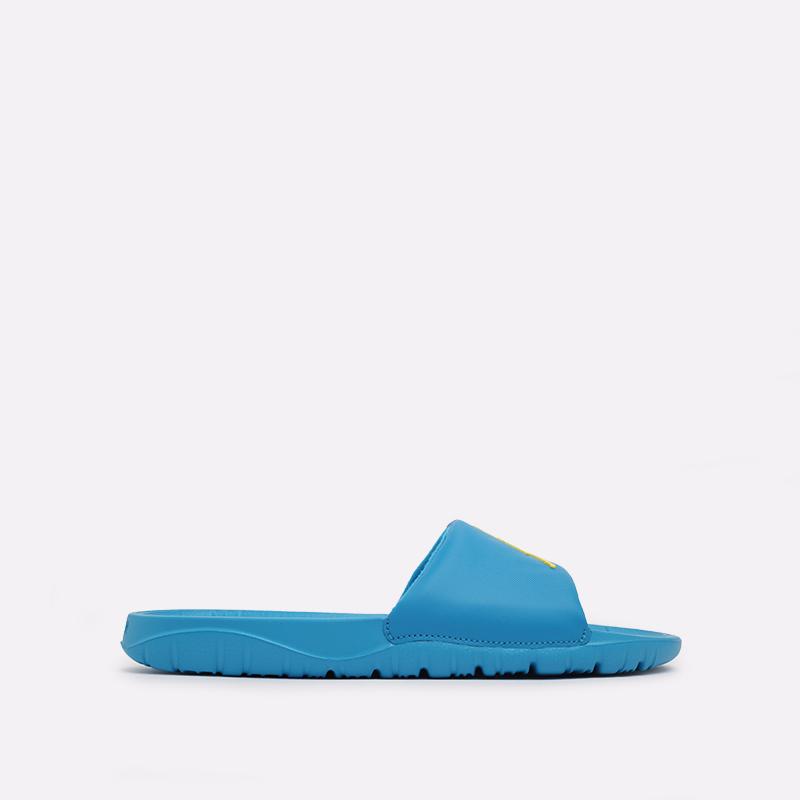 мужские голубые  сланцы jordan breakslide AR6374-402 - цена, описание, фото 1