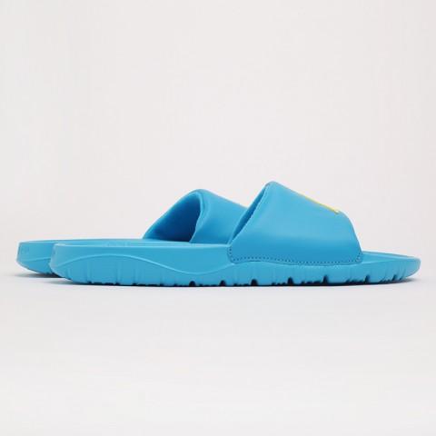 мужские голубые  сланцы jordan breakslide AR6374-402 - цена, описание, фото 2