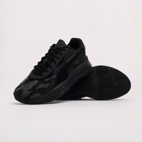 чёрные  кроссовки puma rs-pure x the hundreds 37138101 - цена, описание, фото 5