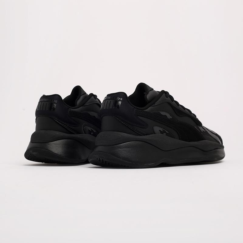 чёрные  кроссовки puma rs-pure x the hundreds 37138101 - цена, описание, фото 3