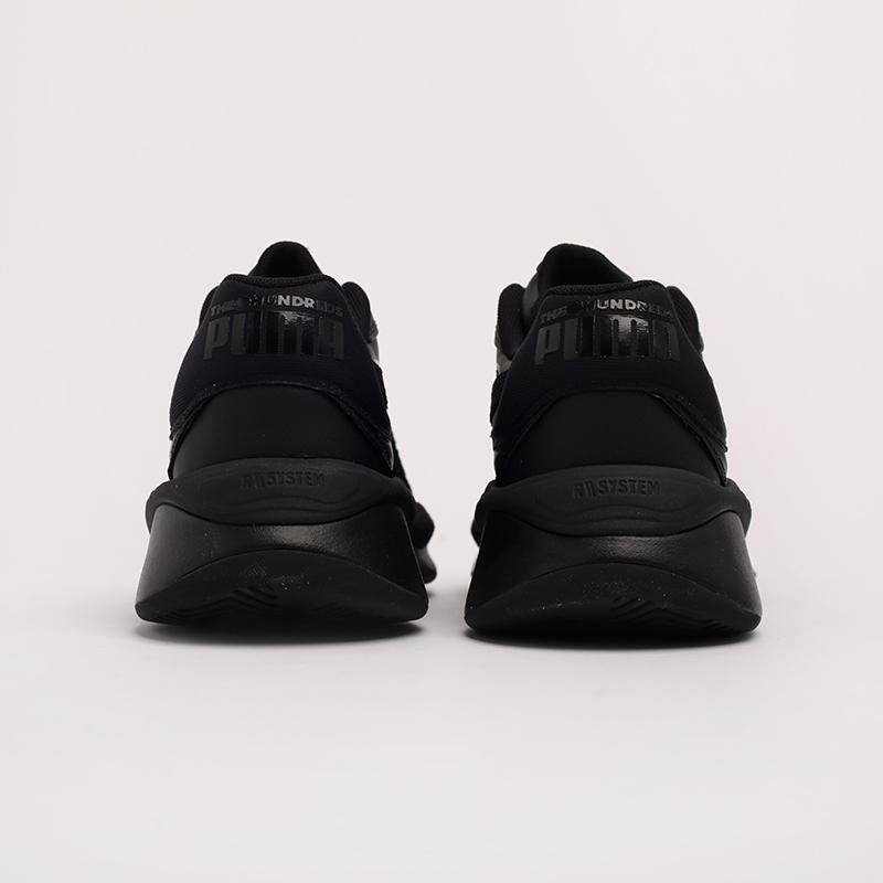 чёрные  кроссовки puma rs-pure x the hundreds 37138101 - цена, описание, фото 4