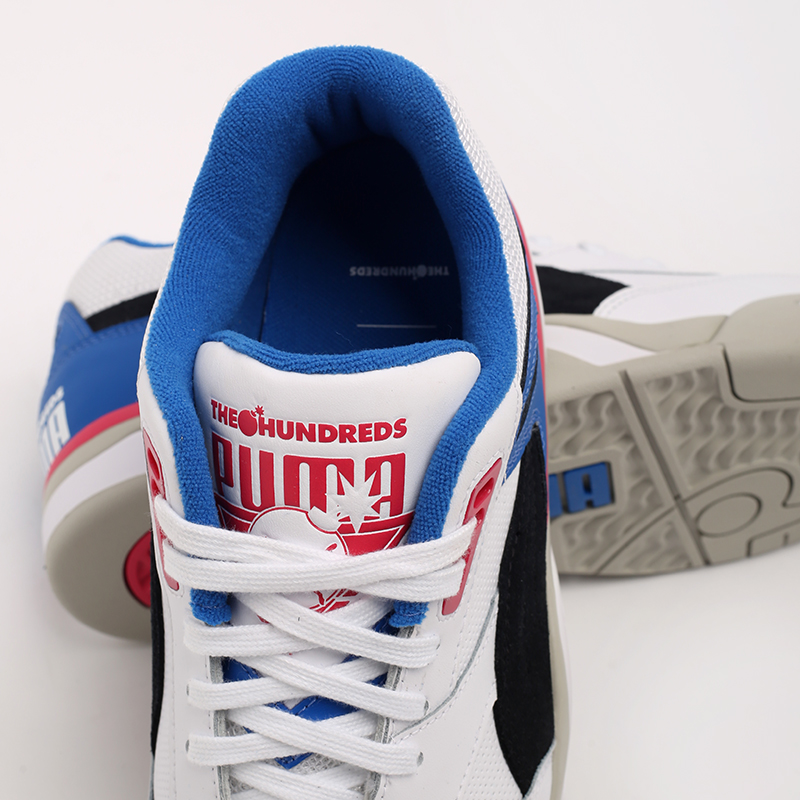белые  кроссовки puma palace guard x the hundreds 37138201 - цена, описание, фото 7