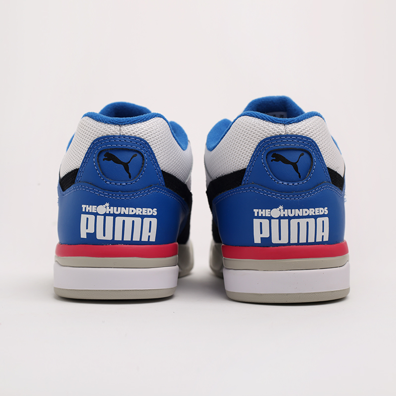 белые  кроссовки puma palace guard x the hundreds 37138201 - цена, описание, фото 4