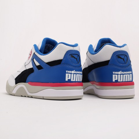 белые  кроссовки puma palace guard x the hundreds 37138201 - цена, описание, фото 5