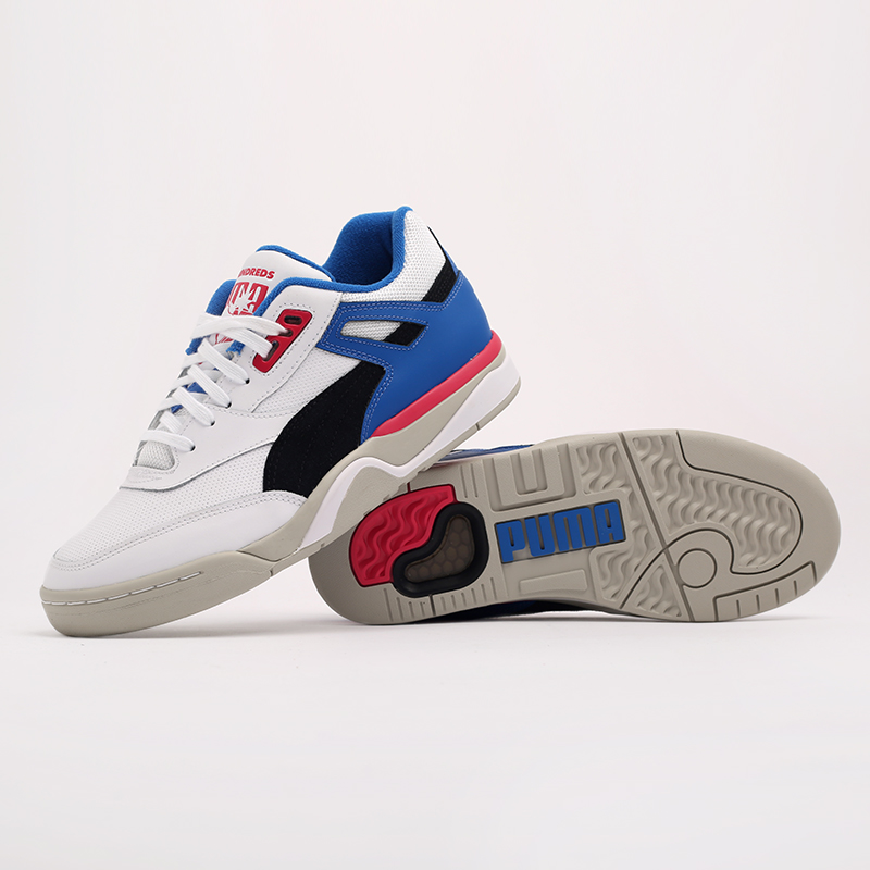 белые  кроссовки puma palace guard x the hundreds 37138201 - цена, описание, фото 2