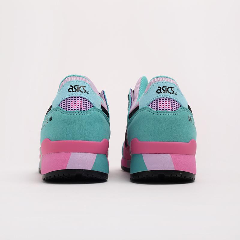 мужские разноцветные  кроссовки asics gel-lyte iii og 1201A051-500 - цена, описание, фото 3