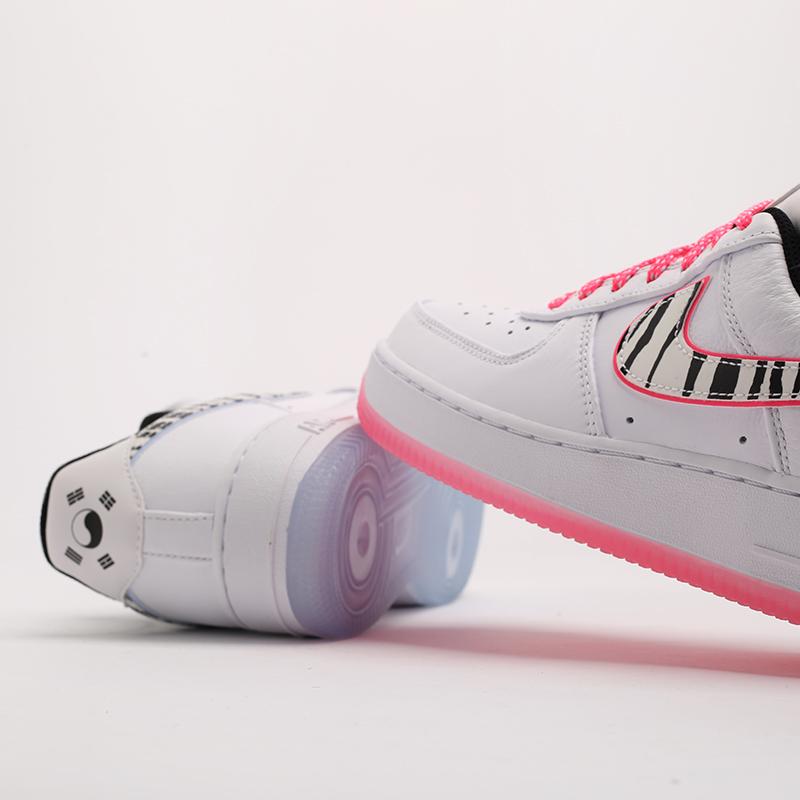 белые  кроссовки nike air force 1 '07 qs CW3919-100 - цена, описание, фото 5