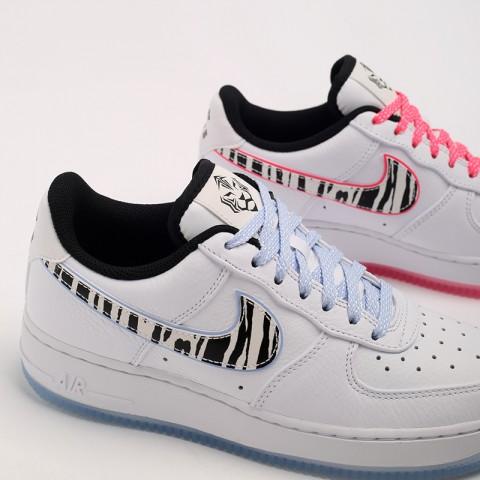 белые  кроссовки nike air force 1 '07 qs CW3919-100 - цена, описание, фото 7