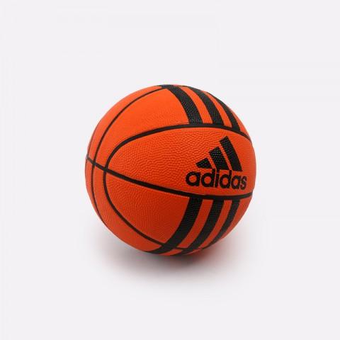 оранжевый  мяч №3 adidas 3-stripes mini X53042 - цена, описание, фото 1
