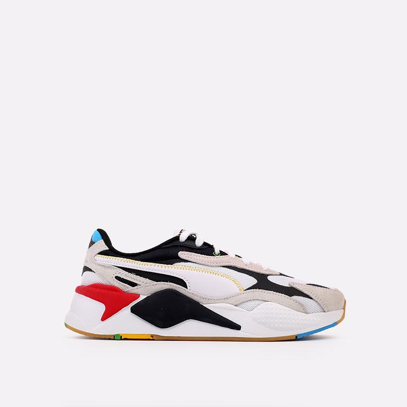 белые  кроссовки puma rs-x3 wh 37330801 - цена, описание, фото 1